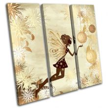 Fairy Snowflakes Illustration - 13-1855(00B)-TR11-LO